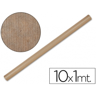Papel color kraft Liderpapel marron rollo 10x1 mt