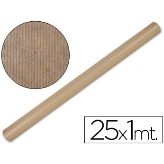 Papel color kraft Liderpapel marron rollo 25x1 mt
