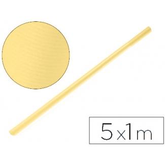 Papel color kraft Liderpapel miel rollo 5x1 mt