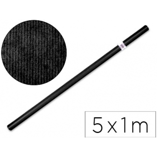 Papel color kraft Liderpapel negro rollo 5x1 mt