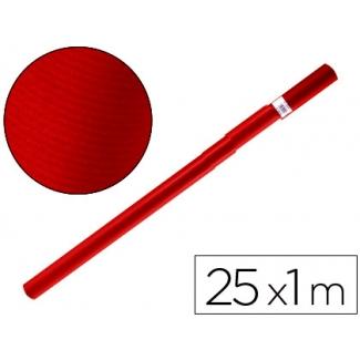 Papel color kraft Liderpapel rojo cherry rollo 25x1 mt