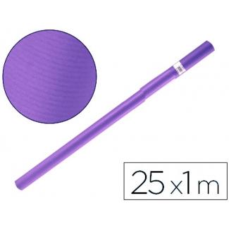 Papel color kraft Liderpapel violeta rollo 25x1 mt