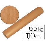 Papel color kraft marron bobina mt de altura 60/65 kg