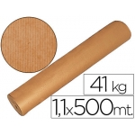Papel color kraft marron mt x 500 mt s especial para embalaje