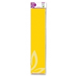 Liderpapel CP02 - Papel crespón, 50 cm x 2,5 m, color amarillo