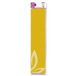 Liderpapel CP03 - Papel crespón, 50 cm x 2,5 m, color amarillo oro
