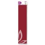 Liderpapel CP05 - Papel crespón, 50 cm x 2,5 m, color burdeos