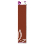 Papel crespon Liderpapel 50 cm x 2.5m 34g/m2 color marron