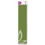 Papel crespon Liderpapel 50 cm x 2.5m 34g/m2 color verde oliva