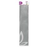 Papel crespon Liderpapel 50 cm x 2.5m metalizado plat a