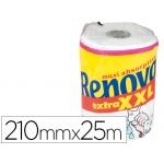 Papel de cocina Renova jumbo ultra absorbente 42g/m2 ancho 210 mm largo 25m