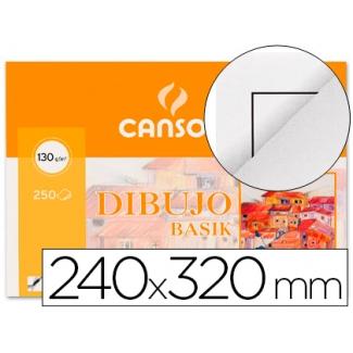 Papel dibujo basik 240x320 tamaño A4 + 130 gr con recuadrícula de minipack de 10 hojas