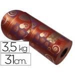 Papel fanstasia color kraft havana todo el año bobina 31 cm 3,5 kg