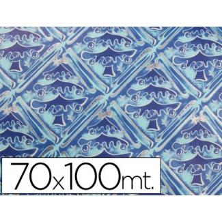 Papel fantasía color navidad Luxus tamaño 70x100 cm paquete de 25 hojas