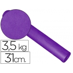 Papel fantasía kraft blanco kfc-bobina 31 cm 3,5 kg color lila