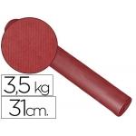 Papel fantasía kraft liso kfc bobina 31 cm 3,5 kg color burdeos