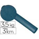 Papel fantasía kraft liso kfc bobina 31 cm 3,5 kg color cobalto