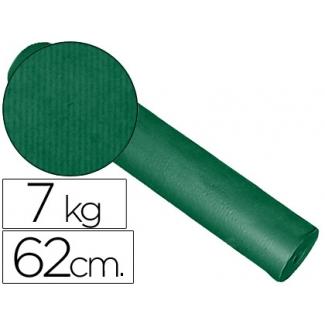 Impresma KFC-V - Papel kraft liso, bobina de 620 mm x 200 mt, 60 gramos, color verde