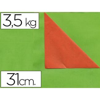 Papel fantasía verjurado doble cara bobina de 31 cm -3,5kg