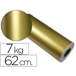 Papel fantasía verjurado star color oro bobina 62 cm 7 kg