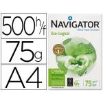 Papel fotocopiadora Navigator eco logical tamaño A4 75 gramos paquete de 500 hojas