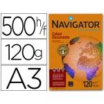 Papel fotocopiadora Navigator tamaño A3 120 gramos paquete de 500 hojas
