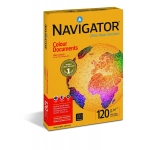 Papel fotocopiadora Navigator tamaño A4 120 gramos paquete de 250 hojas
