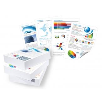 Papel fotocopiadora Q-connect ultra white tamaño A3 100 gramos paquete de 500 hojas