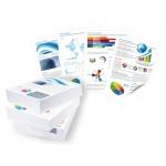 Papel fotocopiadora Q-Connect ultra white tamaño A4 120 gramos paquete de 250 hojas