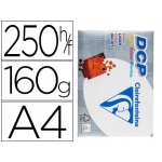 Papel fotocopiadora clairefontaine tamaño A4 160 gramos paquete de 250 hojas