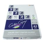 Papel fotocopiadora color copy glossy tamaño A3 200 gramos paquete de 250 hojas