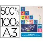 Papel fotocopiadora color copy tamaño A3 100 gramos paquete de 500 hojas