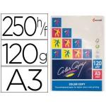 Papel fotocopiadora color copy tamaño A3 120 gramos paquete de 250 hojas