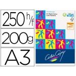 Papel fotocopiadora color copy tamaño A3 200 gramos paquete de 250 hojas