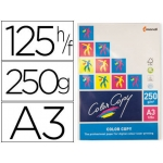 Papel fotocopiadora color copy tamaño A3 250 gramos paquete de 125 hojas