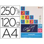 Papel fotocopiadora color copy tamaño A4 120 gramos paquete de 250 hojas