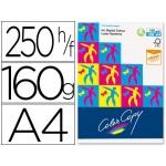 Papel fotocopiadora color copy tamaño A4 160 gramos paquete de 250 hojas