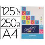 Papel fotocopiadora color copy tamaño A4 250 gramos paquete de 125 hojas
