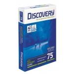 Papel fotocopiadora discovery tamano A4 75 gramos papel multiuso ink-jet y laserpaquete de 500 hojas