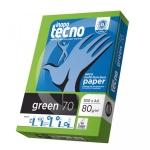 Papel fotocopiadora tecno green 100% reciclado tamaño A4 80 gramos paquete de 500 hojas