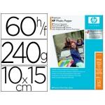Papel fotográfico Hp premiun 10x15 240 gr/m2 resistente