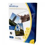 Papel fotográfico MediaRange tamaño A4 135 gr brillo caja 100 hojas