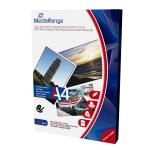 Papel fotográfico MediaRange tamaño A4 200 gr mate doble cara caja 50 hojas