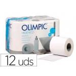 Papel higiénico olimpic 2 capas paquete de 12 rollos