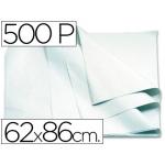 Papel manila 62x86 color blanco paquete de 500 hojas