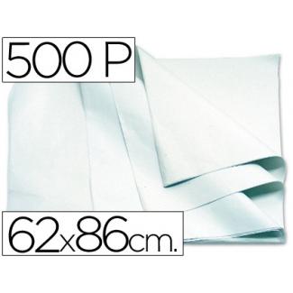 Blanca - Papel manila, 62 x 86 cm, paquete de 500 hojas, color blanco