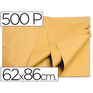 Papel manila 62x86 color crema paquete de 500 hojas