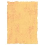 Papel pergamino tamaño A4 200 gr color marmol amarillo paquete de 25 hojas