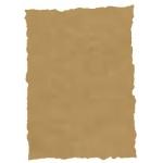 Papel pergamino tamaño A4 troquelado 125 gr piel elefante color pergamino paquete de 25 hojas