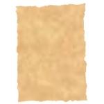 Papel pergamino tamaño A4 troquelado 150 gr color parchment ocre paquete de 25 hojas